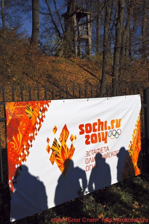 олимпийский огонь 14