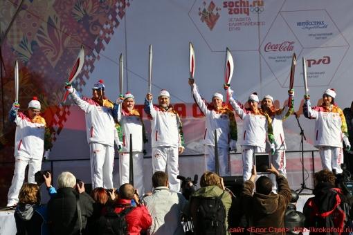 олимпийский огонь 46