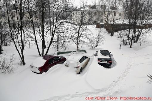 Щёкино зимой 217