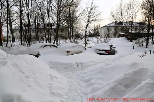 Щёкино зимой 214