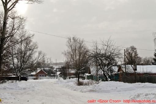 Щёкино зимой 9
