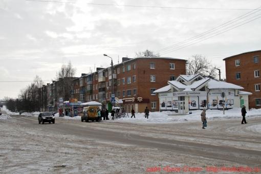 Щёкино зимой 19