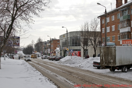 Щёкино зимой 20
