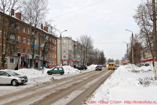 Щёкино зимой 21