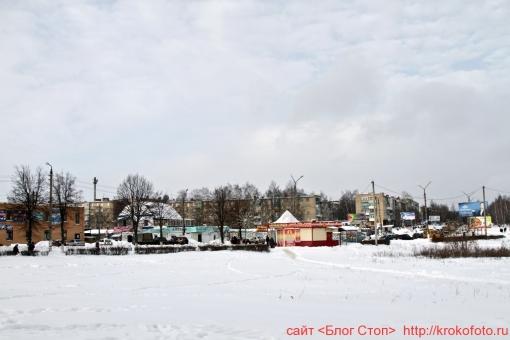 Щёкино зимой 23