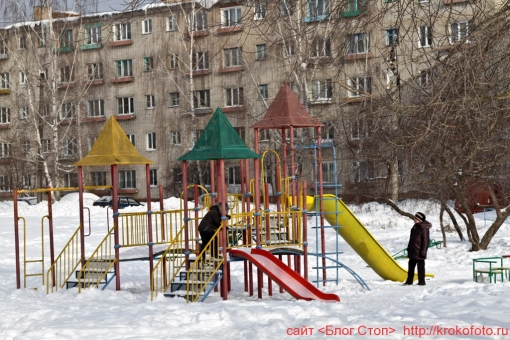 Щёкино зимой 29