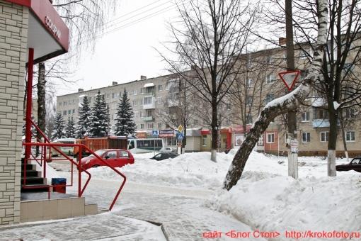 Щёкино зимой 61