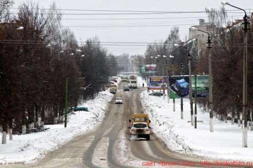 Щёкино зимой 63