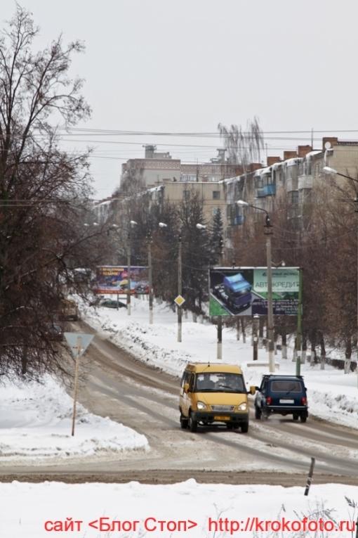 Щёкино зимой 67