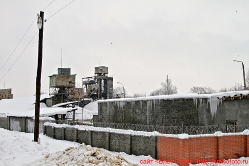 Щёкино зимой 70