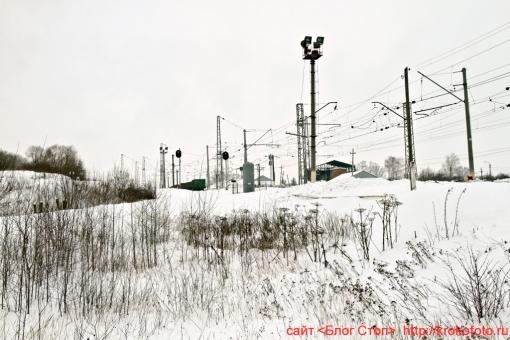 Щёкино зимой 71
