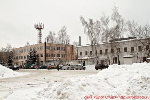 Щёкино зимой 75