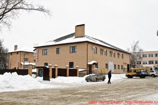 Щёкино зимой 77