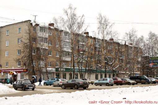 Щёкино зимой 82
