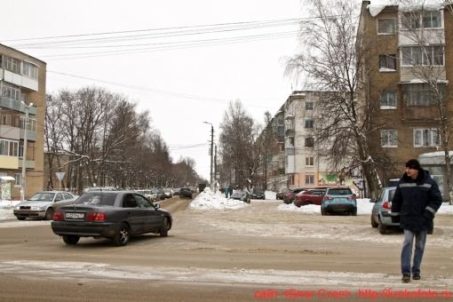 Щёкино зимой 84