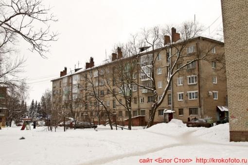 Щёкино зимой 89