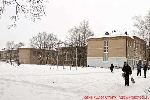 Щёкино зимой 90