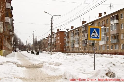 Щёкино зимой 92