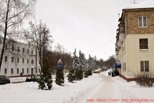 Щёкино зимой 93