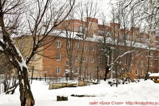 Щёкино зимой 96