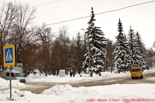 Щёкино зимой 97