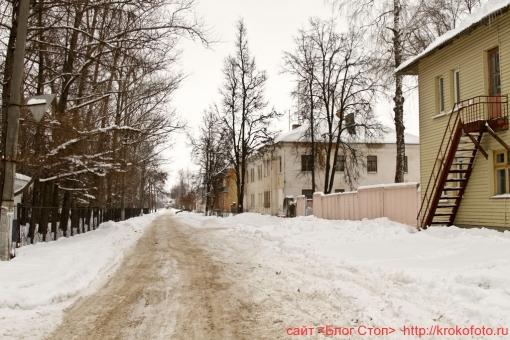 Щёкино зимой 110