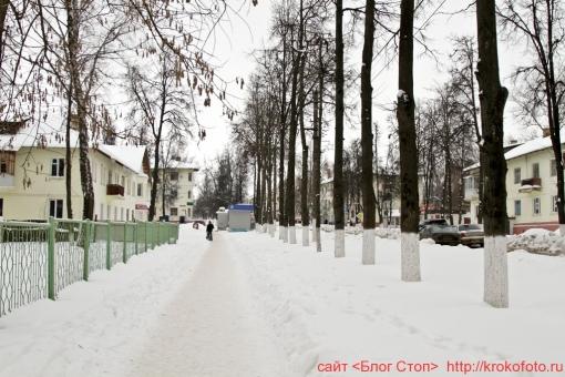Щёкино зимой 112