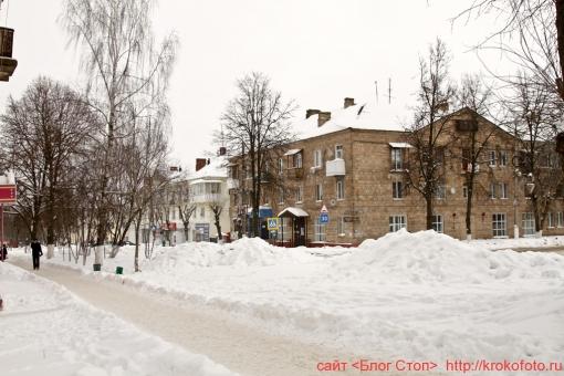 Щёкино зимой 128