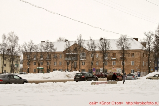 Щёкино зимой 129