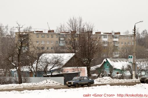 Щёкино зимой 194