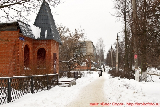 Щёкино зимой 195