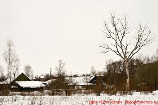 Щёкино зимой 196
