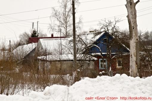 Щёкино зимой 197
