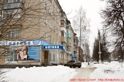 Щёкино зимой 198