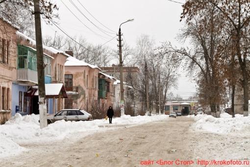 Щёкино зимой 199