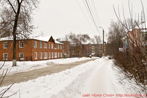 Щёкино зимой 202
