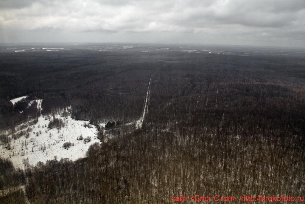 Щёкинский район сверху 30