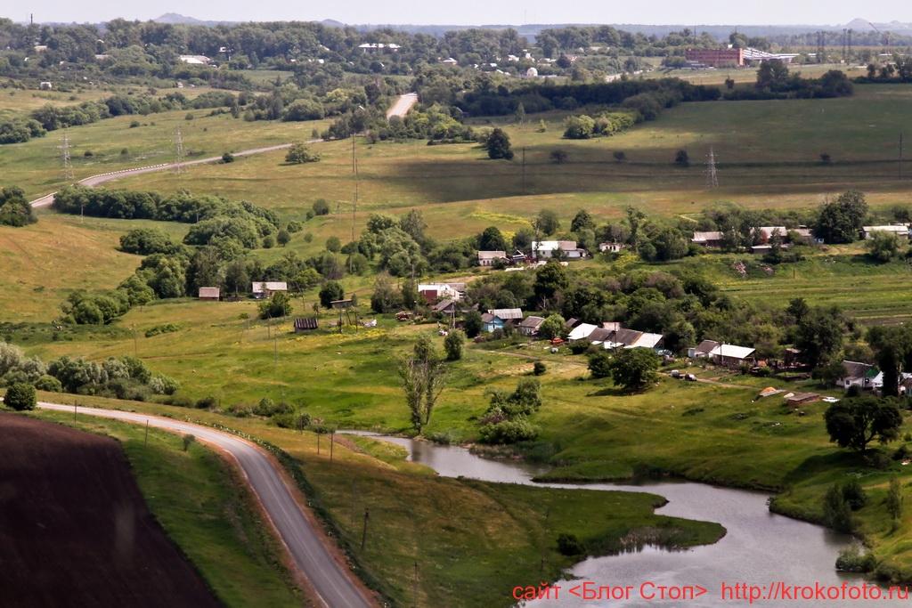 Щёкинский район сверху 77