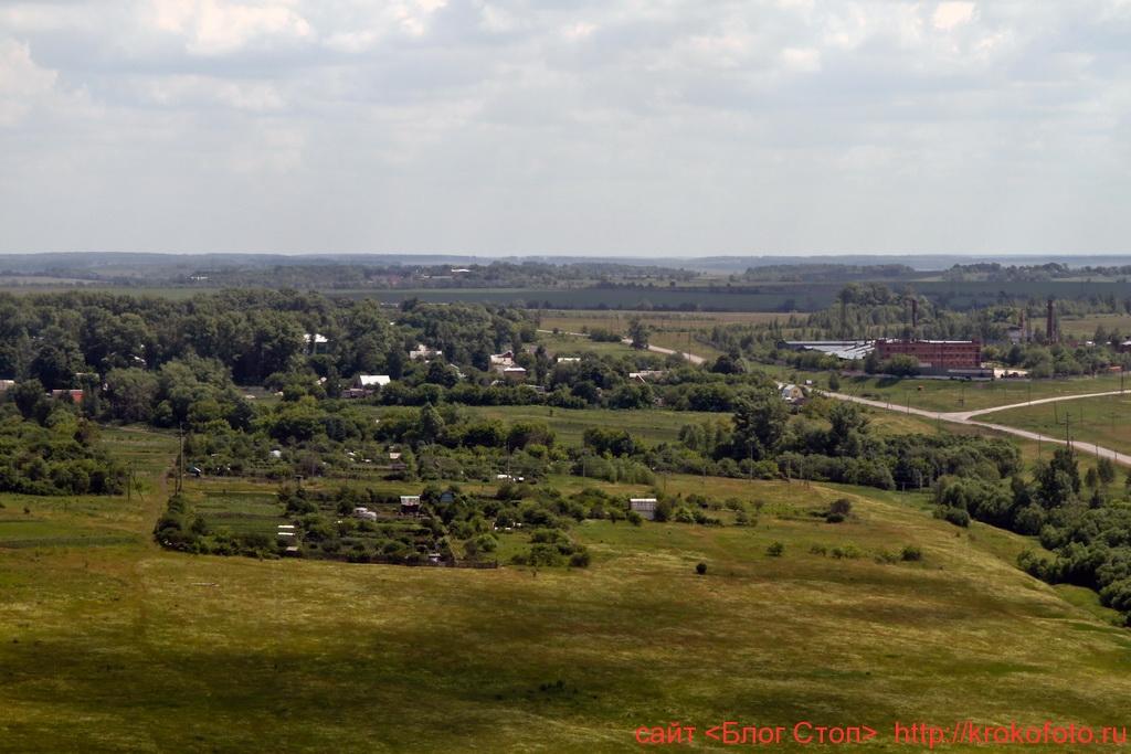 Щёкинский район сверху 85