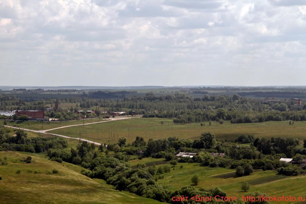 Щёкинский район сверху 86