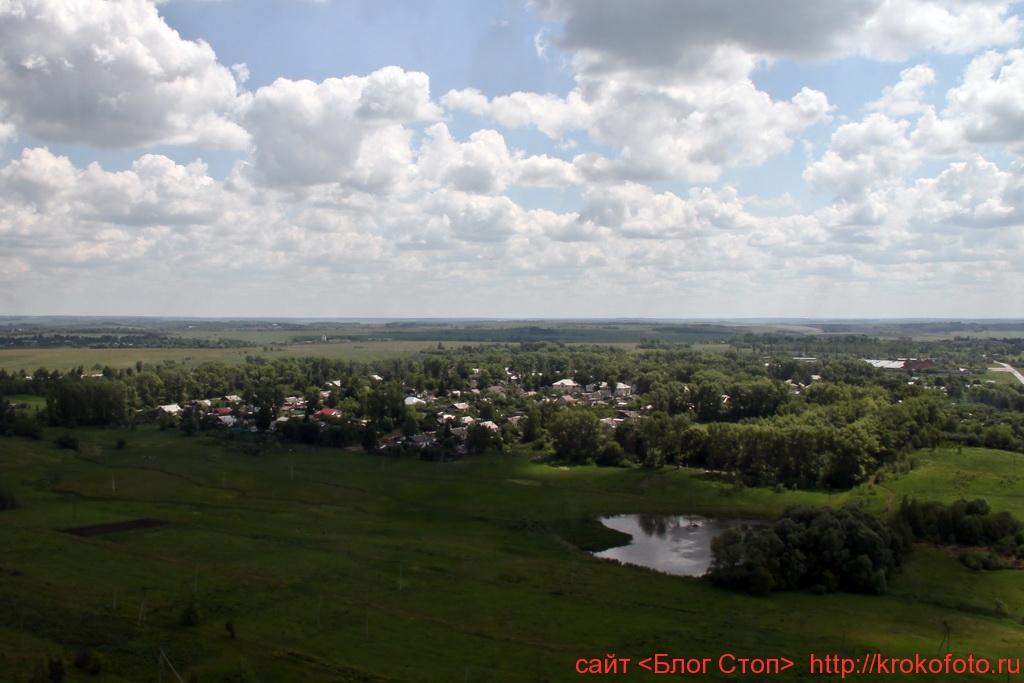 Щёкинский район сверху 90