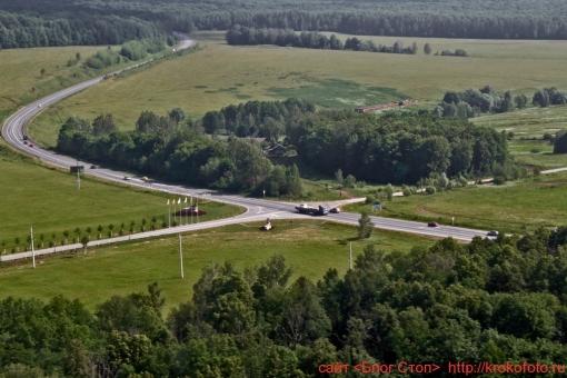 Щёкинский район сверху 45