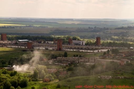 Щёкинский район сверху 55