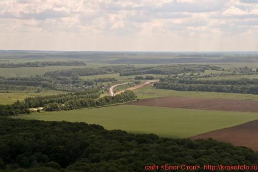 Щёкинский район сверху 62
