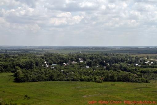 Щёкинский район сверху 87