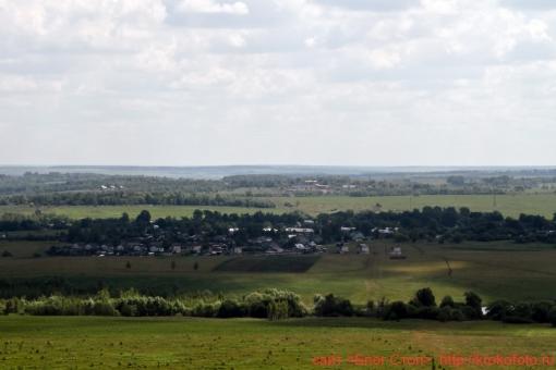 Щёкинский район сверху 98