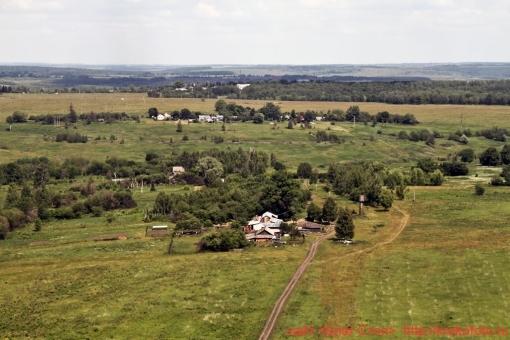 Щёкинский район сверху 120