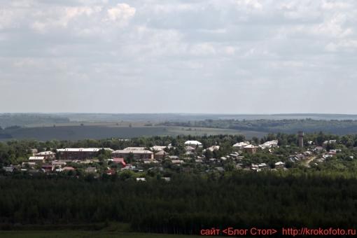 Щёкинский район сверху 100