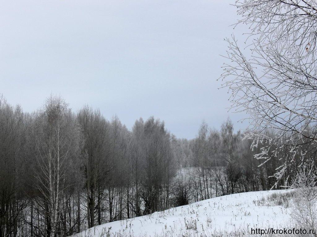 зимние пейзажи 22