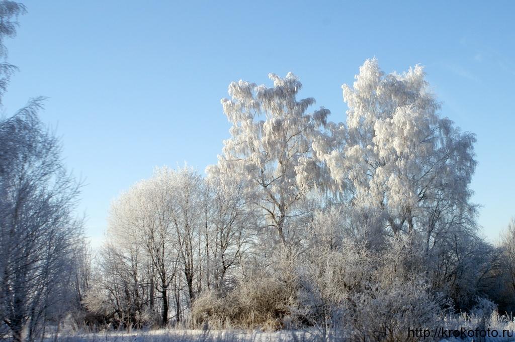зимние пейзажи 27